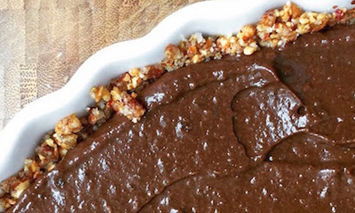 Como Fazer Torta Crua de Chocolate Com Raiz Forte
